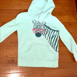 Green Zebra sweatshirt